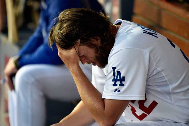 After being roughed up in Game 1, Clayton Kershaw will pitch on three days' notice.